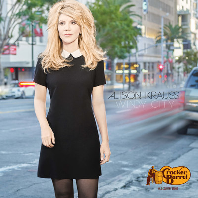 """Alison Krauss will release her exclusive bonus track version of """"Windy City"""" in Cracker Barrel Old Country Store(R) locations nationwide and online at crackerbarrel.com on Friday, Feb. 17"""