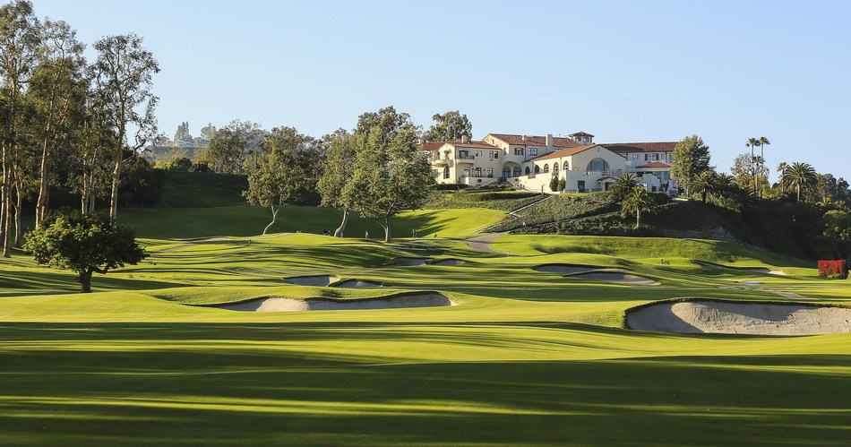 The Riviera Country Club 9th Hole