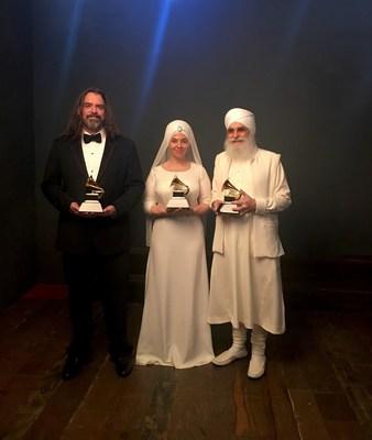 White Sun - Grammy Awards (Feb 12, 2017) Adam Berry, Gurujas, and Harijiwan