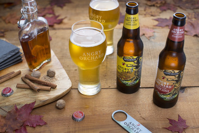 Angry Orchard taps into seasonal flavors with new Angry Orchard Tapped Maple and limited release Angry Orchard Spiced Apple.