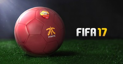 Fnatic announces its partnership with Italian football club, AS Roma, to introduce the club's first professional team to FIFA's growing esports league.