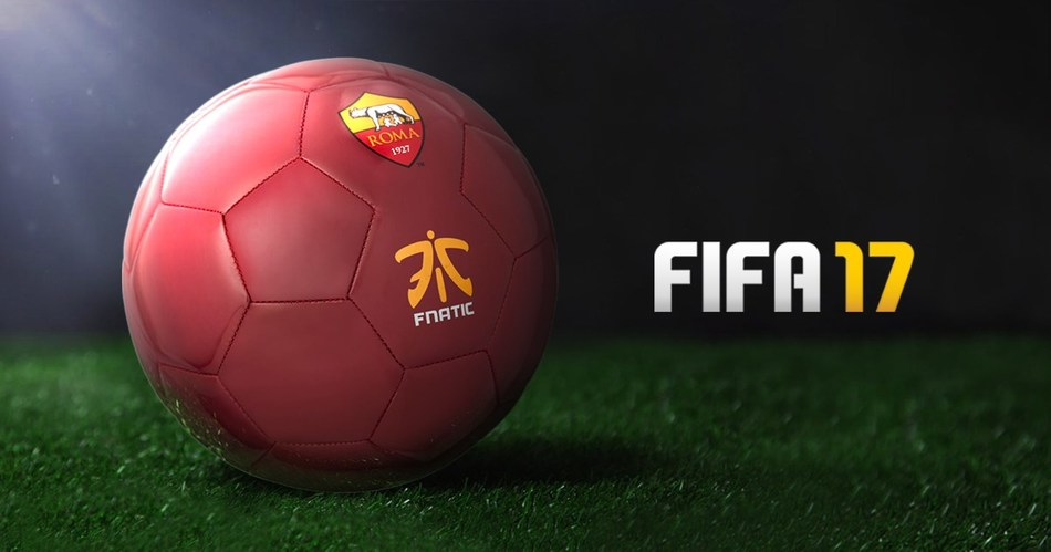 Fnatic announces its partnership with Italian football club, AS Roma, to introduce the club's first professional team to FIFA's growing esports league. (PRNewsFoto/Fnatic)