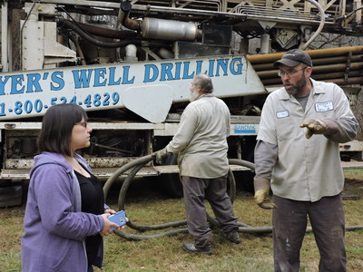 The Water Well Trust completed a water well drilling project in Barto, PA, for homeowners with two small children who live in a 100-year-old home. Funding for the project came from the Henry E. King III Memorial Fund.