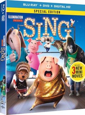 From Universal Pictures Home Entertainment: Sing
