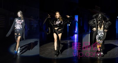"The ""95-degree black"" collection jointly launched by Vip.com, Qzone, YouTu Lab, and Chi Zhang"