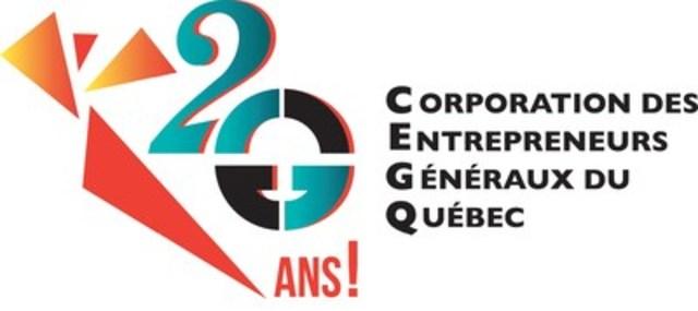 Logo : Corporation des entrepreneurs généraux du Québec (Groupe CNW/Corporation des Entrepreneurs généraux du Québec (CEGQ))