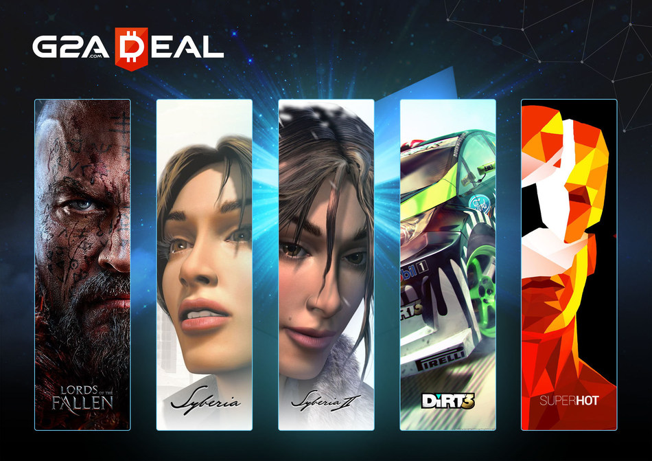 The games included in the first-ever G2A Deal. (PRNewsFoto/G2A.com)