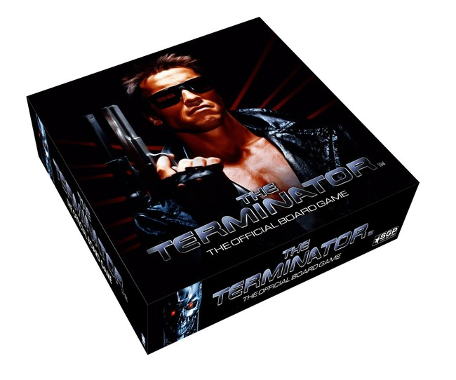 The Terminator: The Official Board Game Box Art by Space Goat Productions