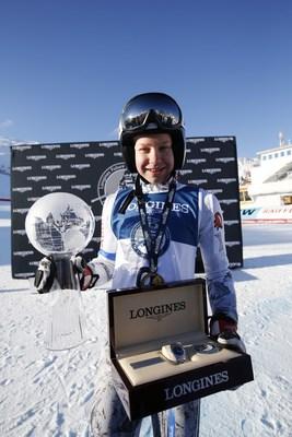 """Longines Future Ski Champions 2017"" Erika Pykalainen - Zoom Agency Longines (PRNewsFoto/LONGINES)"