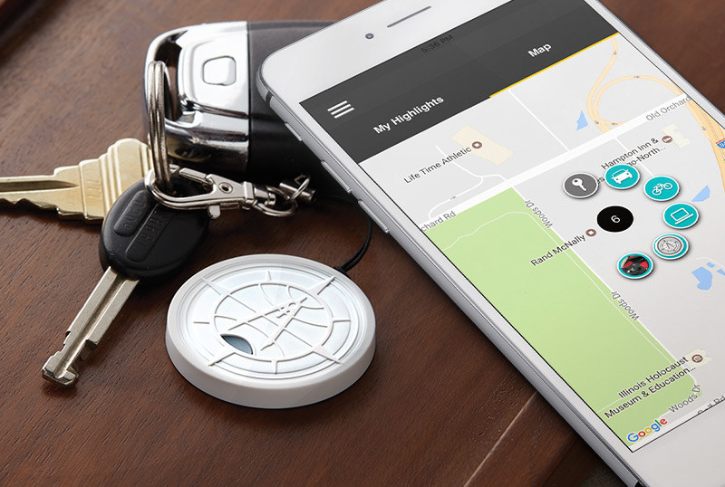 Never lose sight of your most important items with Rand McNally's Highlight(TM) Bluetooth(R) tracker and app.