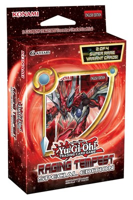 March's Yu-Gi-Oh! Raging Tempest Special Edition