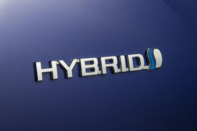 Les ventes mondiales d'hybrides de Toyota franchissent le cap des 10 millions d'unités (Groupe CNW/Toyota Canada Inc.)