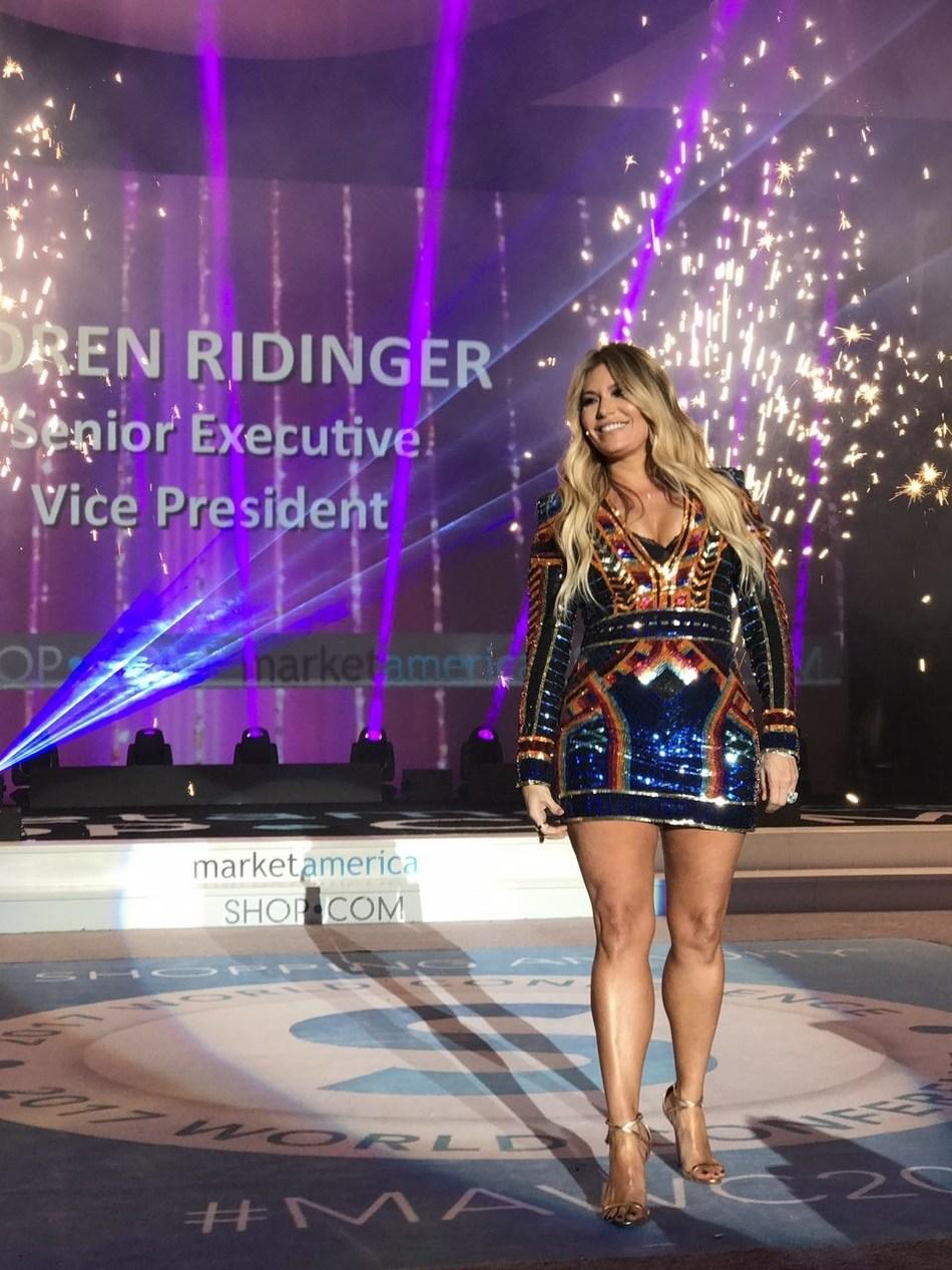 Loren Ridinger, Senior Executive Vice President of Market America SHOP.COM and creator of the Motives by Loren Ridinger cosmetics brand.