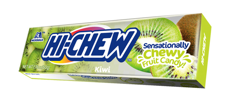 Hi-Chew goes tropical with the launch of new Kiwi flavor.