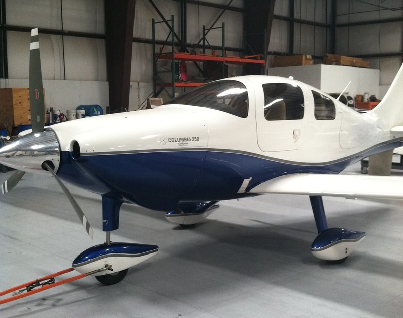 Dr. Palmer saved $17,000.00 in aircraft tax when he purchased his new Lancair Columbia 350.