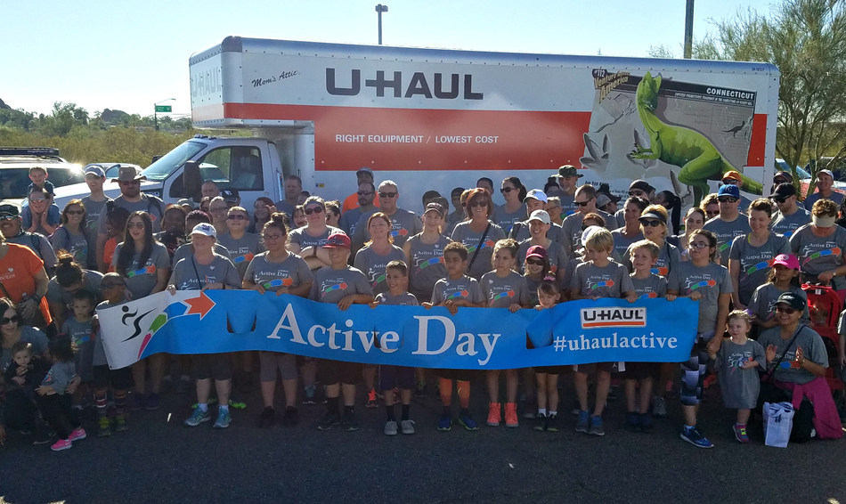 The American Heart Association has recognized U-Haul as a Gold Fit-Friendly Worksite, the Company's most distinguished national honor since redefining its workplace initiatives to promote a culture of fitness and healthy living.