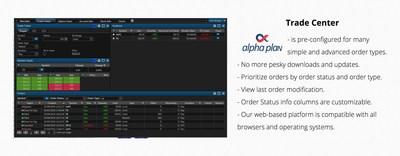 Alpha Plan Trading Platform