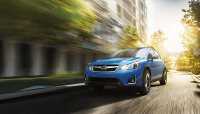 2017 Subaru Crosstrek- CBB Best Retained Value Award in the compact car segment. (CNW Group/Subaru Canada Inc.)