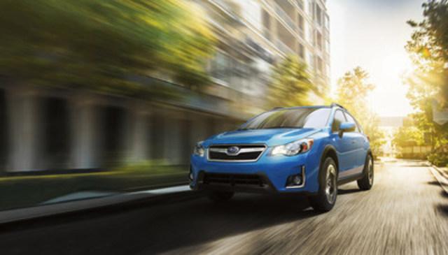 2017 Subaru Crosstrek- CBB Best Retained Value Award in the compact car segment. (CNW Group/Subaru Canada Inc.)