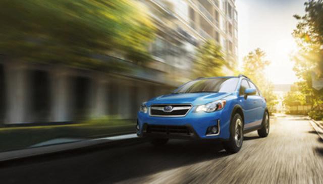 Subaru Crosstrek 2017- Meilleure valeur de retenue dans le segment Voitures compactes décernée par CBB (Groupe CNW/Subaru Canada Inc.)