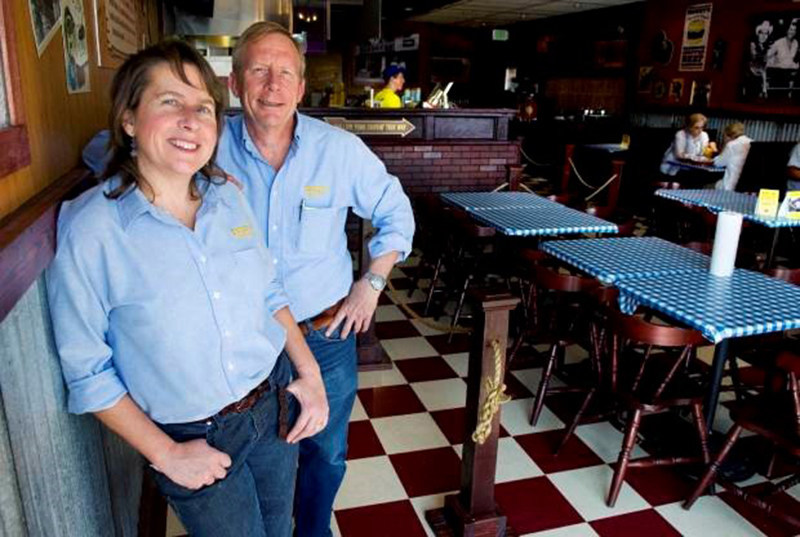 Owners Bob and Barbara Rusnak open their fourth Dickey's Barbecue Pit location in Colorado.