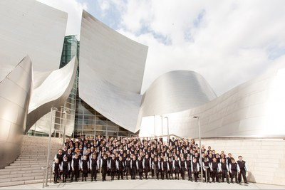 The National Children's Chorus performance at the Walt Disney Concert Hall in Los Angeles. The National Children's Chorus has performed at other world-class venues including Royce Hall and the Hollywood Bowl in Los Angeles; Carnegie Hall and Lincoln Center in New York and internationally.