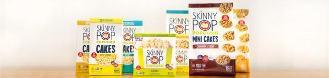 SkinnyPop Microwave Popcorn and Popcorn Cakes Innovations
