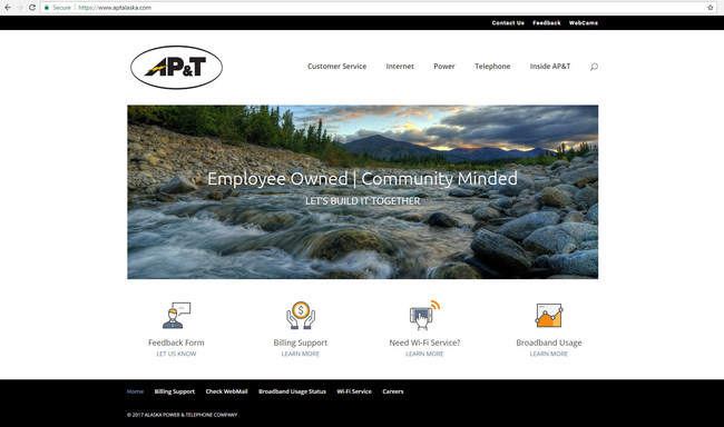 """AP&T's New Website is packed with features, resources and tools that scream """"Your Browser Needs to Get Out More!"""""""