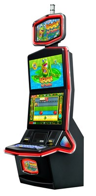 Similar to the iconic arcade classic, Frogger: Get Hoppin' invites players to navigate the unforgettable frog through a road and river crossing course to increase scores and win potential cash prizes.