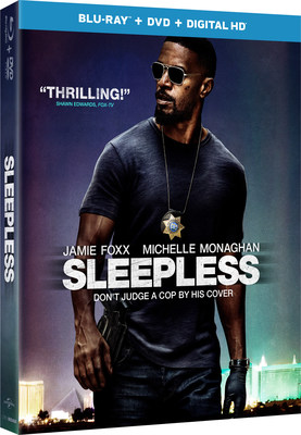 From Universal Pictures Home Entertainment: Sleepless