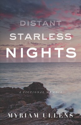 Jacket cover of Distant Starless Nights, the debut novel of Baroness Myriam Ullens
