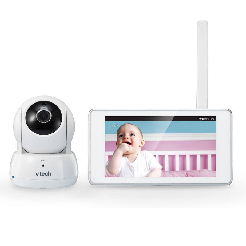 VTech VM991 Wi-Fi HD Video Monitor and Pan & Tilt Camera