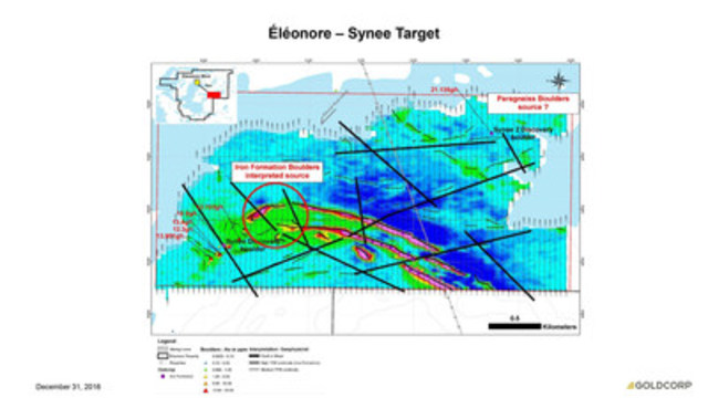 Éléonore - Synee Target (CNW Group/Goldcorp Inc.)