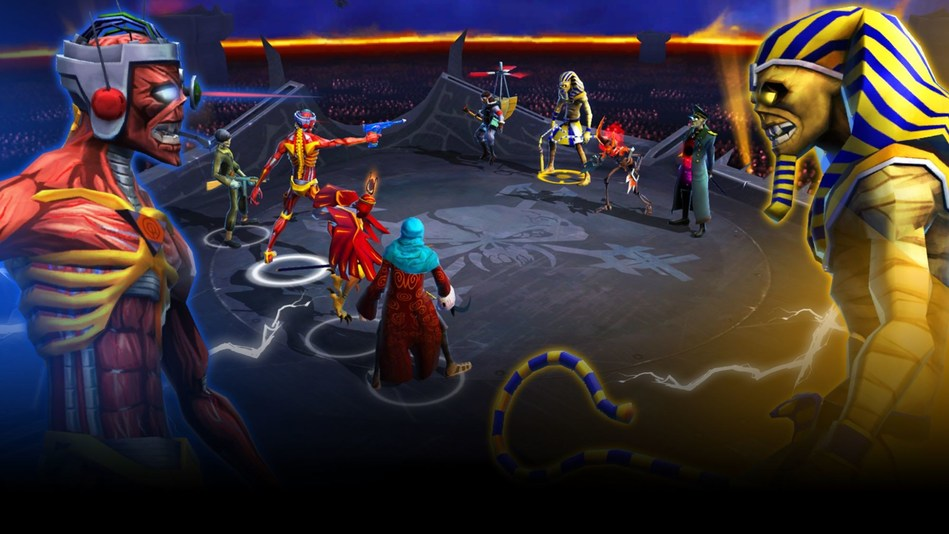 Iron Maiden: Legacy of the Beast game image (PRNewsFoto/Nodding Frog)