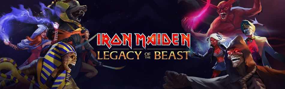 Iron Maiden: Legacy of the Beast logo image (PRNewsFoto/Nodding Frog)