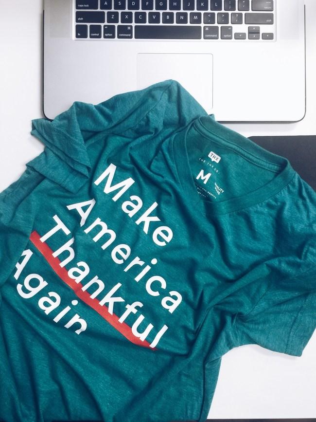 Make America Thankful Again