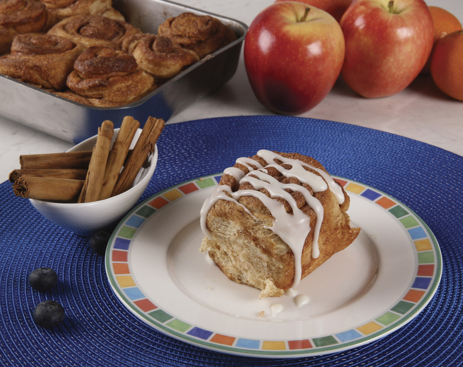 Old-Fashioned Caramel Cinnamon Rolls Photo Courtesy of Premier Protein