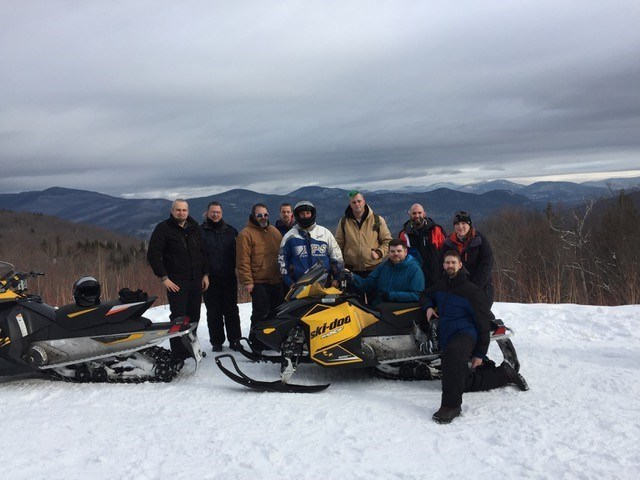 While many people opt to ride out the winter indoors, Wounded Warrior Project(R) (WWP) veterans recently met the frigid conditions head-on. During a guided snowmobile tour of the White Mountains, participants enjoyed trying something new while forming connections with fellow service members.