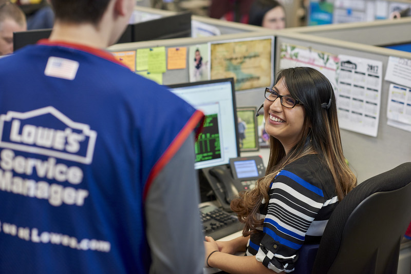Lowe's hiring more than 1,700 U.S. employees to provide personalized customer support.