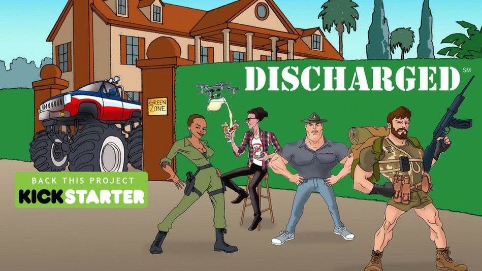 If Family Guy, Friends and Full Metal Jacket had a baby, Discharged would be their offspring.