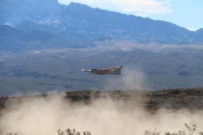Arcturus UAV VTOL Jump-20 take-off