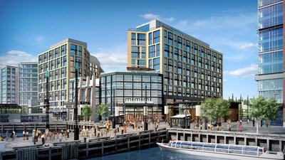Rendering courtesy of The Wharf - Mi Vida Exterior