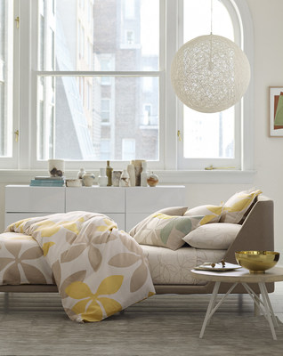 The new Judy Ross Textiles(R) by Garnet Hill collection launches today, featuring bedding, storage solutions, rugs, towels, and more in a range of colors and patterns