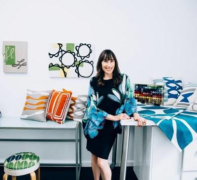Judy Ross, New York based textiles designer
