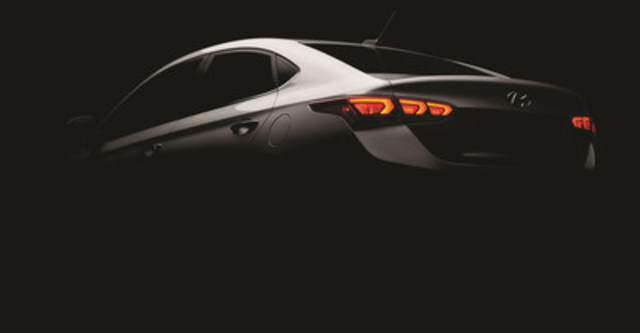 Hyundai will hold the world premiere of the All-new 2018 Accent subcompact Feb. 16 at the Canadian International Auto Show. (CNW Group/Hyundai Auto Canada Corp.)