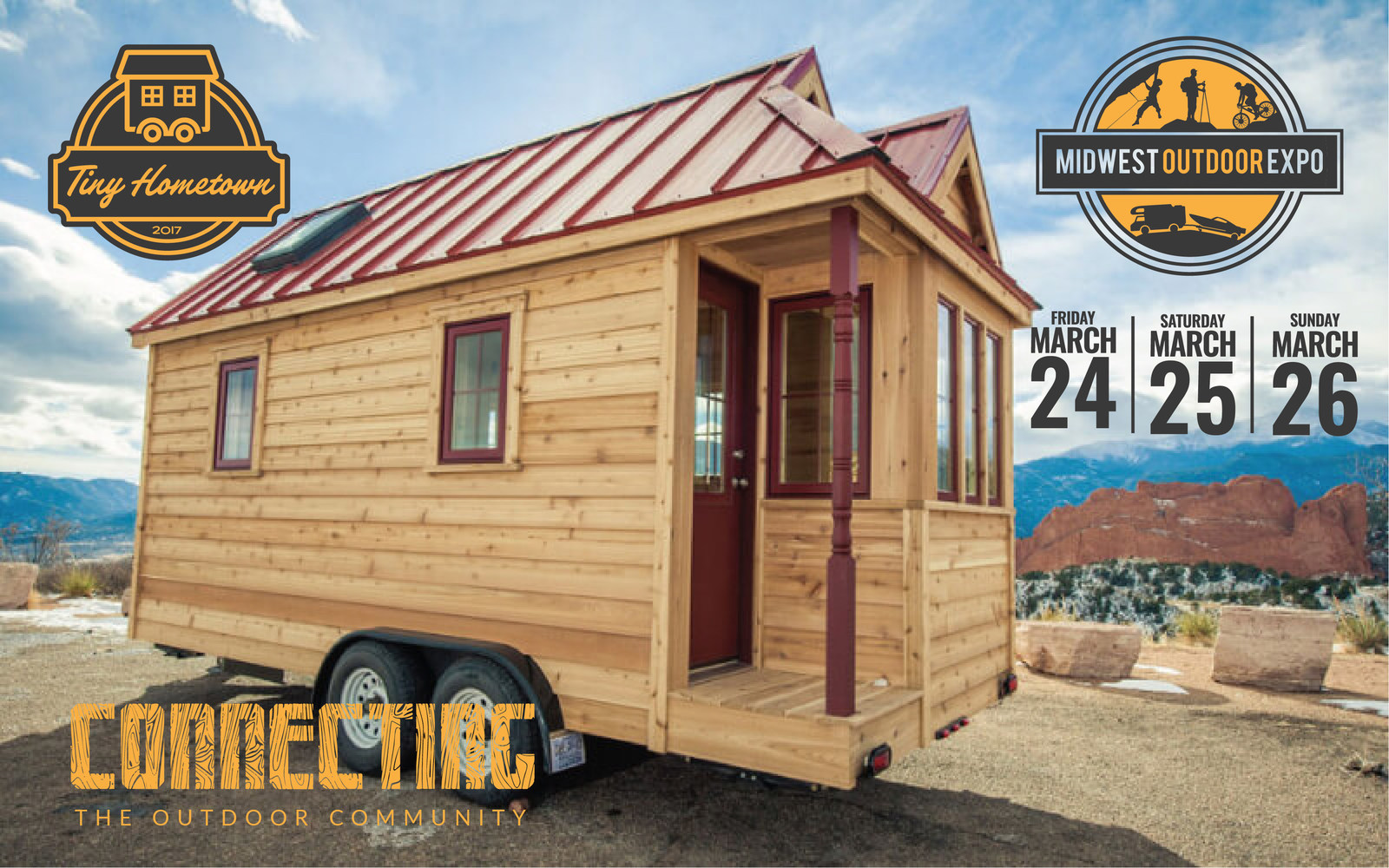 Largest Tiny House high five jenna and guillaume and view its road worthy design and details reserve your spot today for the largest tiny house conference yet Largest Tiny Home Exhibit In The Midwest Coming To Indianapolis