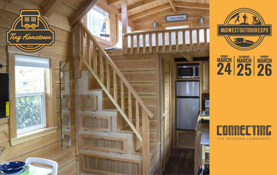 The typical American home is around 2,600 square feet, whereas the typical small or tiny house is between 100 and 400 square feet. Join us at the Midwest Outdoor Expo March 24-26, 2017.