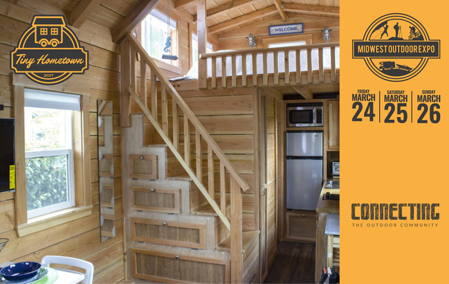 Largest tiny home exhibit in the midwest coming to indianapolis - Around america in a tiny house ...