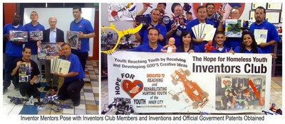 Inventors Consortium Poses with Inventions that have been Licensed by Major Companies
