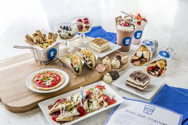 Pop-Tarts Cafe Menu